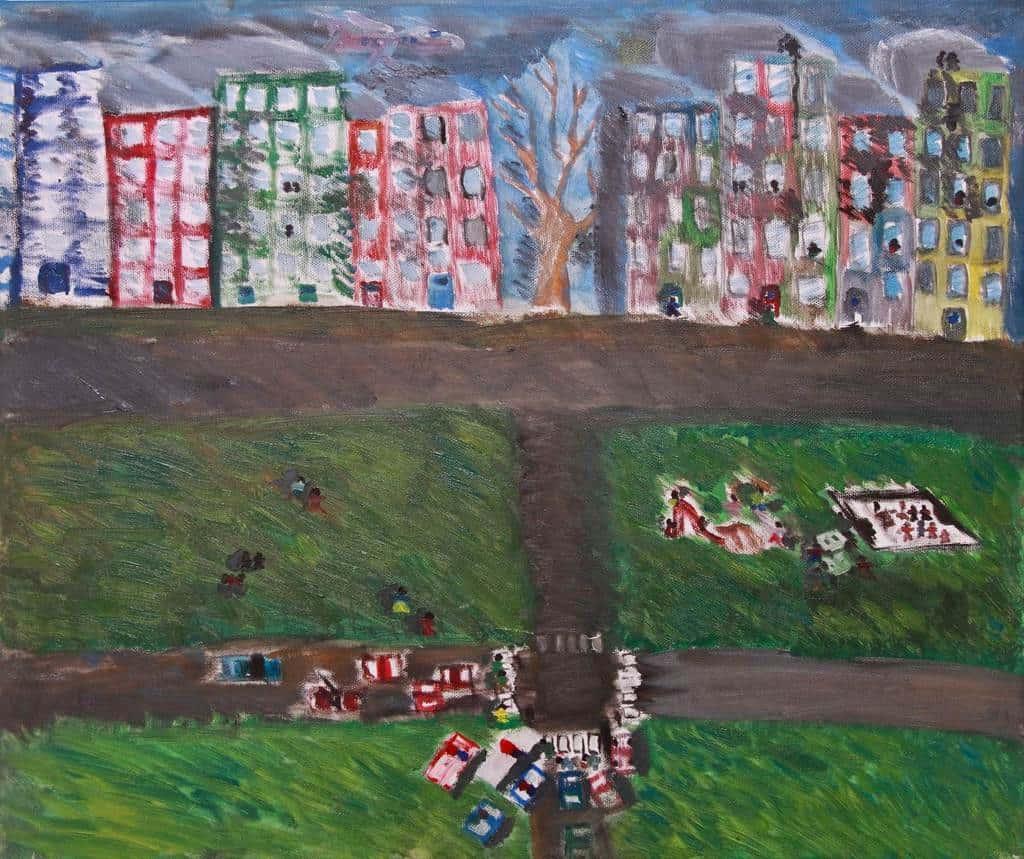 2 A művészet városa-2012 Palkó István 50x60