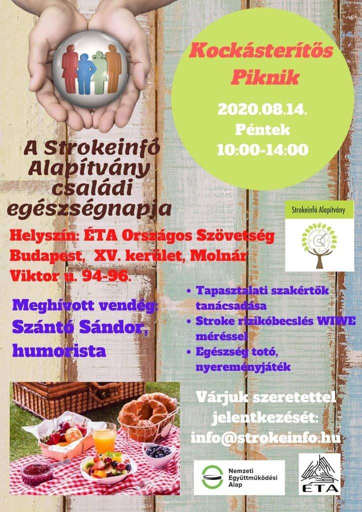 A StrokeInfo Alapítvány családi egészségnapot rendez - MEGHÍVÓ